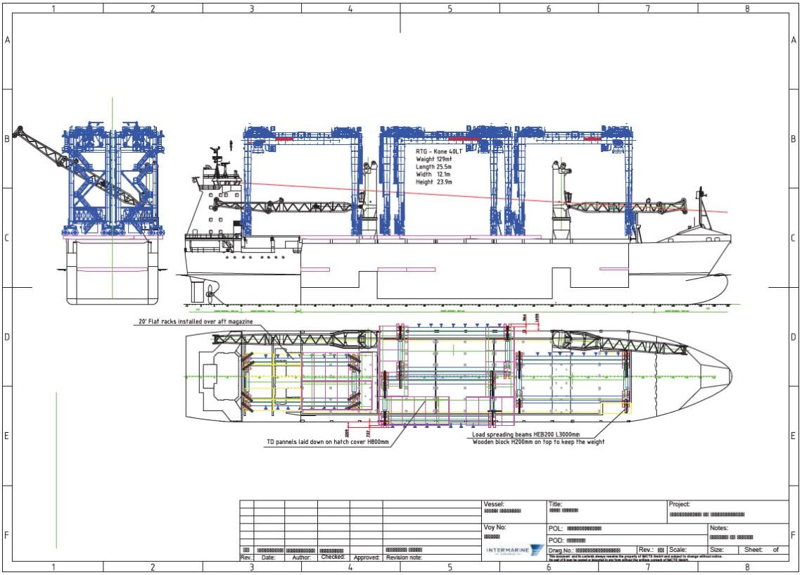 ship layout diagram